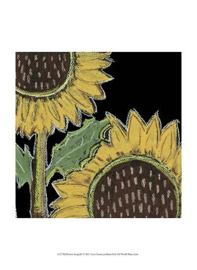 Flower Song III-Lisa Choate-Art Print