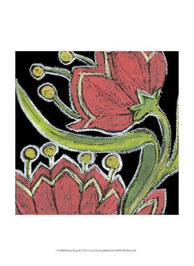 Flower Song IV-Lisa Choate-Art Print