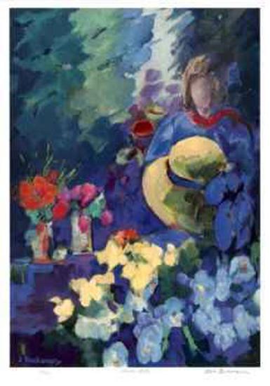 Flower Stall-Zora Buchanan-Collectable Print