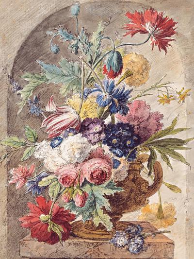 Flower Still Life, Ca 1734-Jan Van Der Heyden-Giclee Print