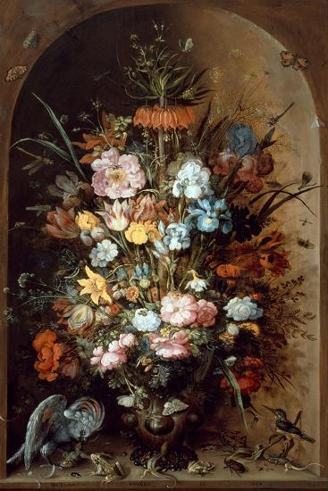 Flower Still Life with Crown Imperial, 1624-Roelant Savery-Giclee Print