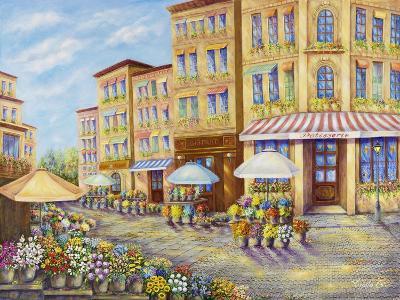 Flower Street-Vessela G.-Giclee Print