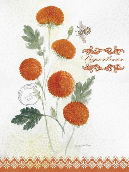 Flower Study on Lace IV-Elissa Della-piana-Art Print