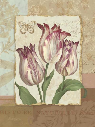 Flower Trio I-Pamela Gladding-Art Print