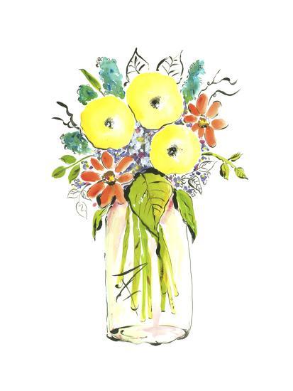 Flower Vase I-Julia Minasian-Art Print