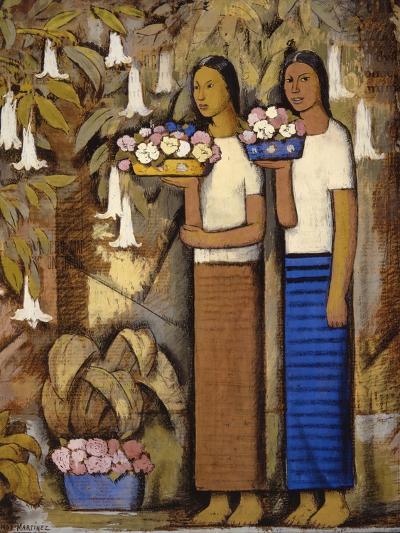 Flower Vendors-Alfredo Ramos Martinez-Art Print