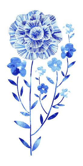 Flowering Flax--Giclee Print