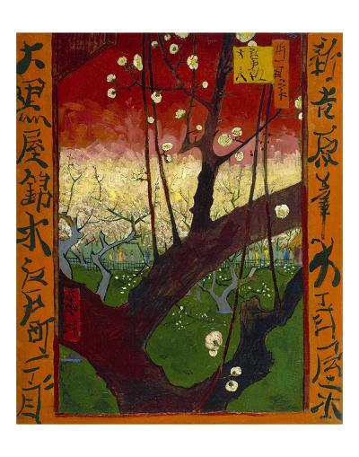 Flowering Plum Tree (after Hiroshige), 1887-Vincent van Gogh-Art Print