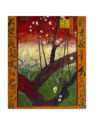 Flowering Plum Tree (After Hiroshige)-Vincent van Gogh-Giclee Print