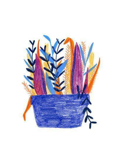 Flowerpot 1-Erin Lin-Premium Giclee Print
