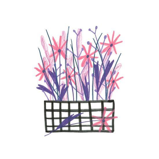 Flowerpot 5-Erin Lin-Premium Giclee Print