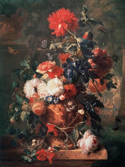 Flowers, 1722-Jan van Huysum-Giclee Print