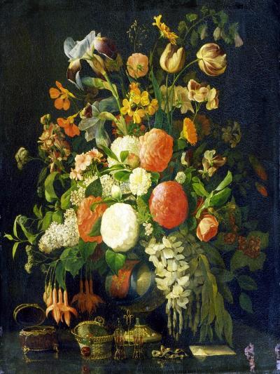 Flowers, 18th Century-Rachel Ruysch-Giclee Print