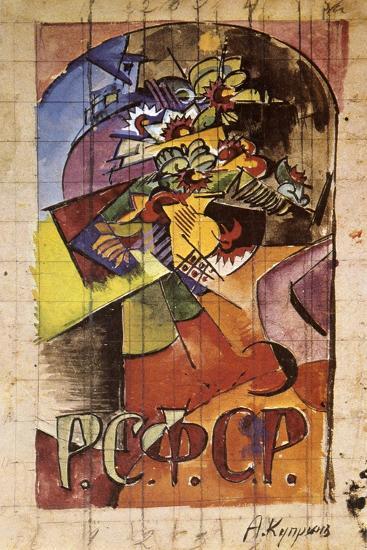 Flowers, 1918-Alexander Kuprin-Giclee Print