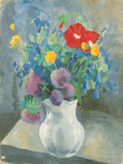 Flowers, 1925-Petr Savvic Utkin-Giclee Print