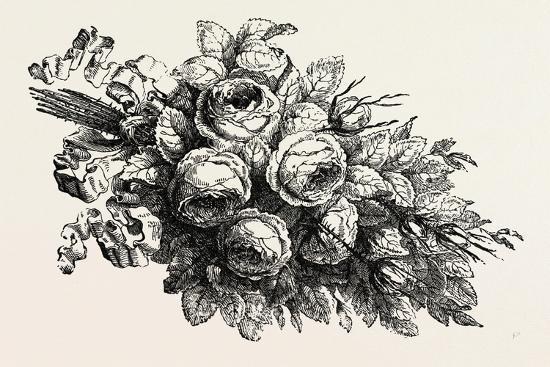 Flowers, 19th Century--Giclee Print