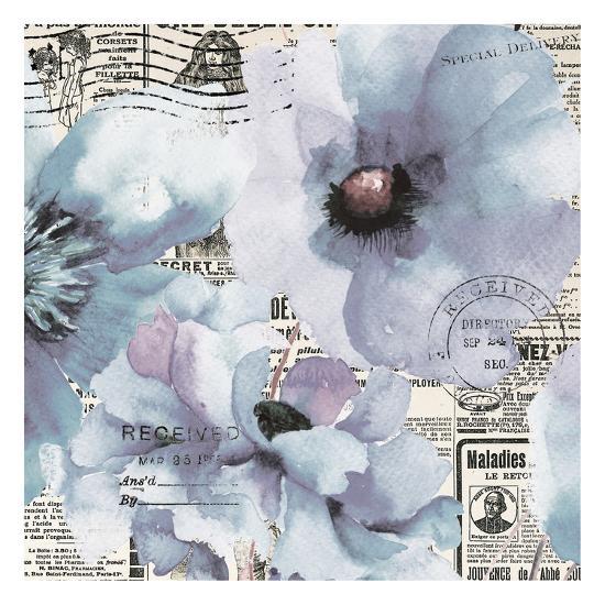 Flowers 20-Victoria Brown-Art Print