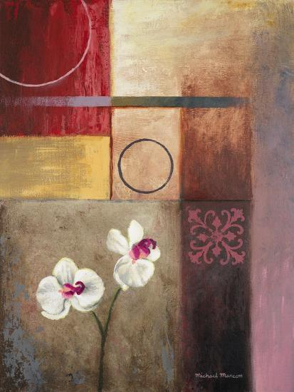 Flowers and Abstract Study I-Michael Marcon-Premium Giclee Print