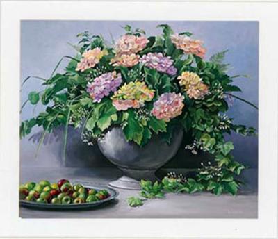 Flowers and Apples I-Karin Valk-Art Print