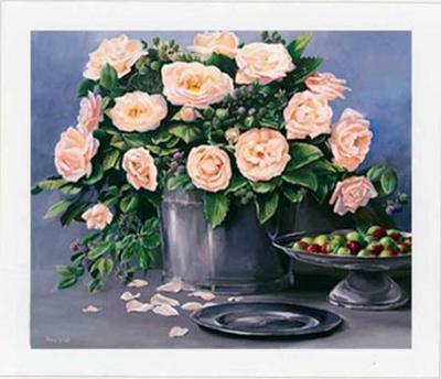 Flowers and Apples II-Karin Valk-Art Print