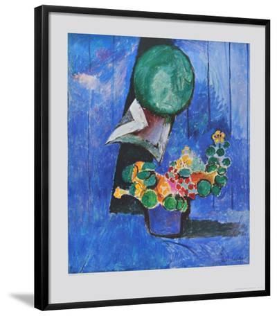 Flowers and Ceramic-Henri Matisse-Framed Art Print