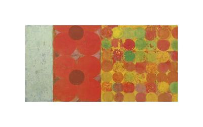 Flowers and Dots, no. 1-Bill Mead-Giclee Print