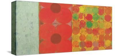 Flowers and Dots, no. 1-Bill Mead-Stretched Canvas Print