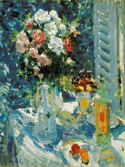 Flowers and Fruits, 1911-1912-Konstantin Korovin-Giclee Print
