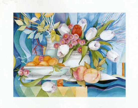 Flowers and Fruits I-Max Egger-Art Print