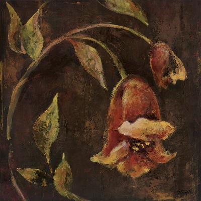 Flowers And Leaves II-Georgie-Giclee Print