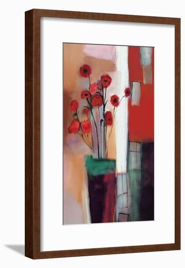 Flowers at Home-Nancy Ortenstone-Framed Art Print