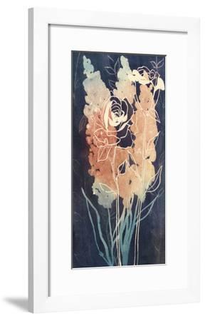 Flowers at Midnight II-Grace Popp-Framed Limited Edition