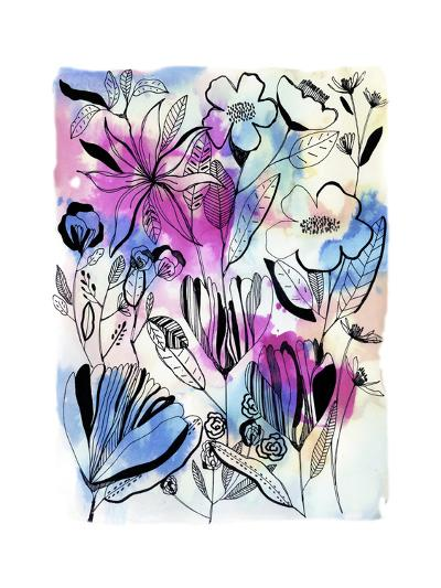 Flowers at Night-Cayena Blanca-Giclee Print
