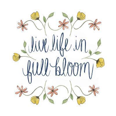 Flowers by Grace IV-Grace Popp-Art Print