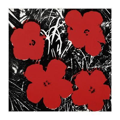 Flowers, c.1964 (Red)-Andy Warhol-Giclee Print