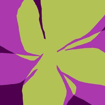 Flowers, c.2007-Nicolas Le Beuan B?nic-Serigraph