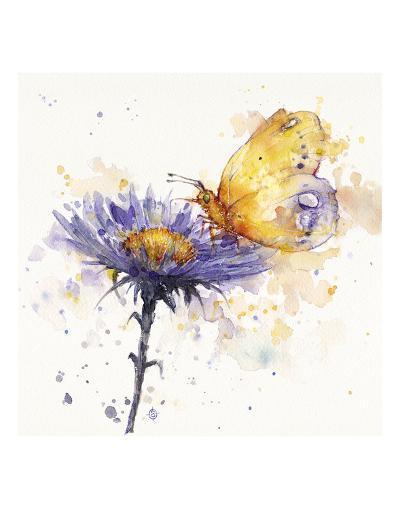 Flowers & Flutters-Sillier than Sally-Art Print