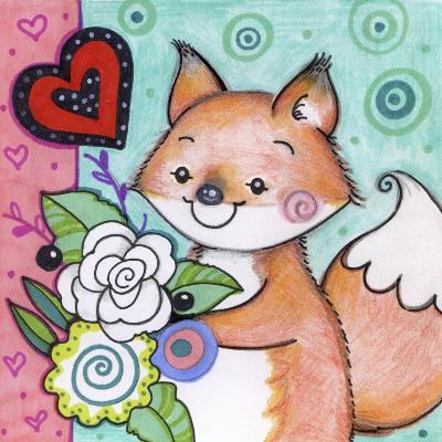 Flowers For Fox-Valarie Wade-Giclee Print