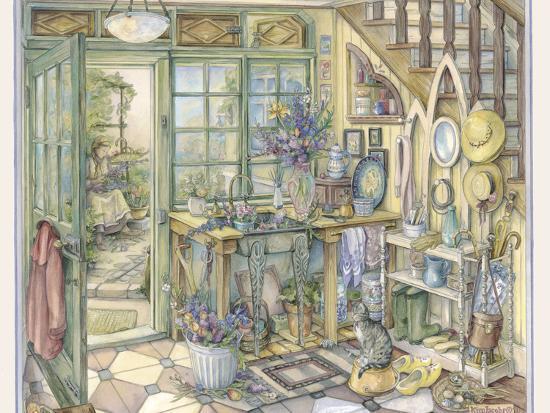 Flowers for House-Kim Jacobs-Giclee Print