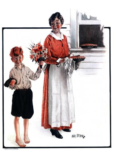 """Flowers for Pie,""June 6, 1925-Angus MacDonall-Giclee Print"