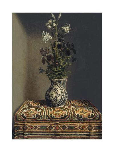 Flowers in a Jug, Ca 1485-Hans Memling-Giclee Print