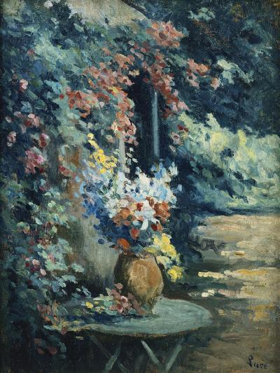 Flowers in a Landscape-Maximilien		 Luce-Giclee Print