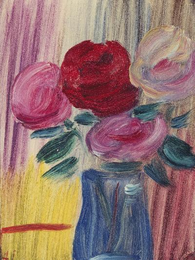 Flowers in Blue Vase-Alexej Von Jawlensky-Giclee Print