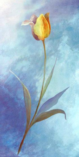 Flowers in Blue-M. Phillys-Art Print
