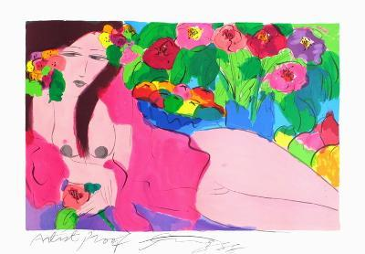 Flowers in Peace-Walasse Ting-Limited Edition