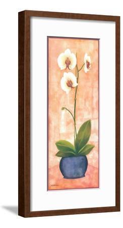 Flowers In Purple I-Urpina-Framed Art Print