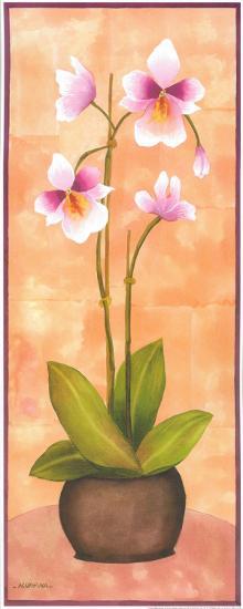 Flowers In Purple II-Urpina-Art Print
