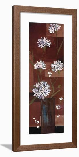 Flowers in Purple-Patrizia Moro-Framed Art Print