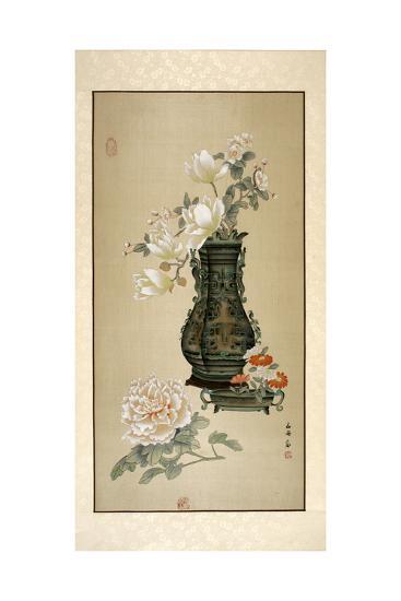 Flowers in Vase-Marcus Jules-Giclee Print