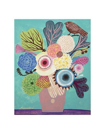 Flowers n. 10-Mercedes Lagunas-Art Print